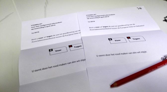 Mijn Stem voor het Oekraïne Referendum