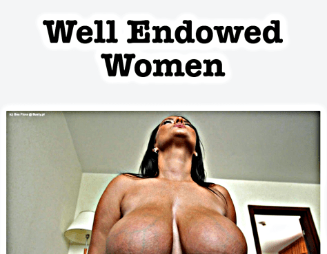 Well Endowed Women 1038