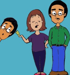 Image result for indian parents cartoon