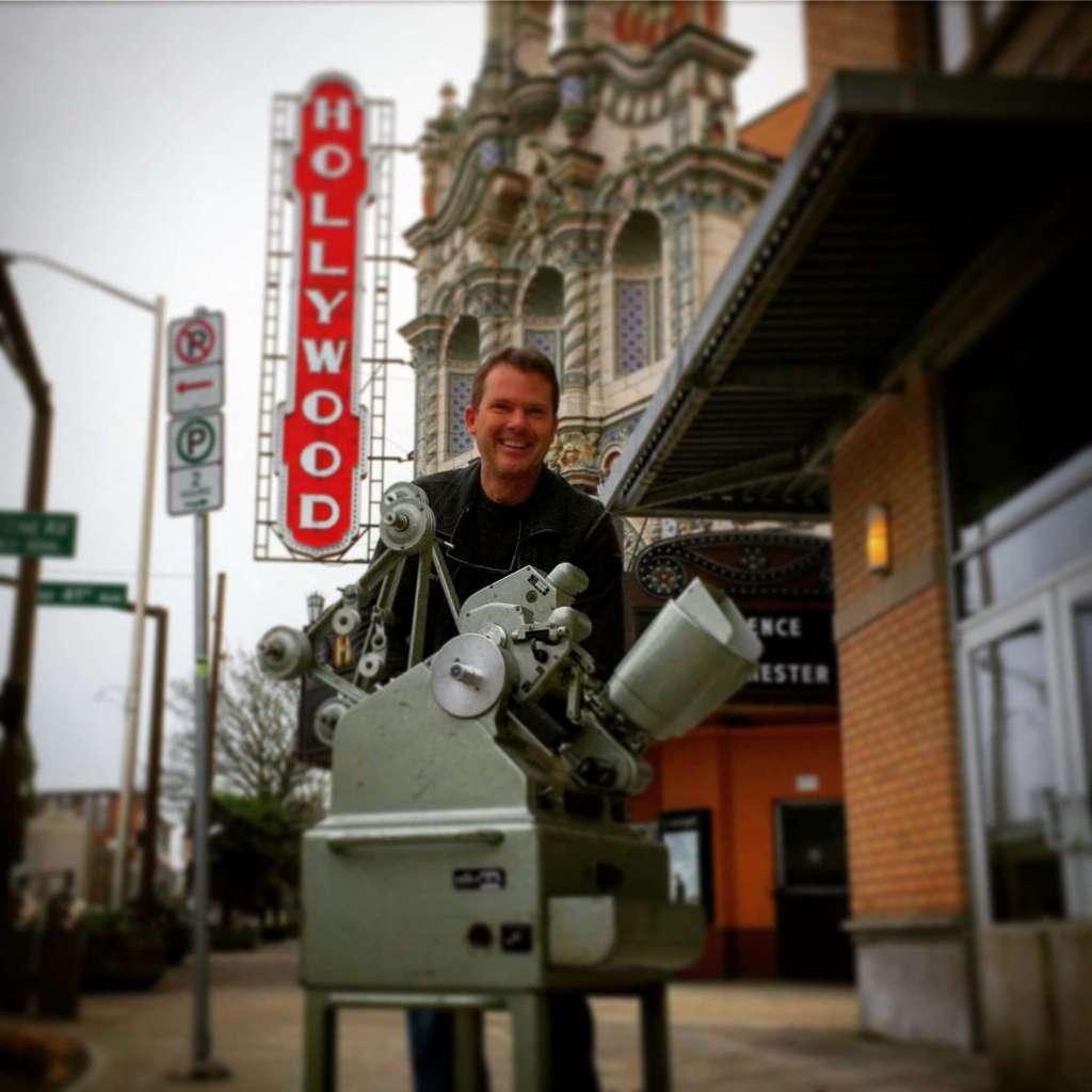 Moviola 35mm film editing machine