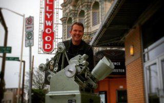 Moviola 35mm film editing machine