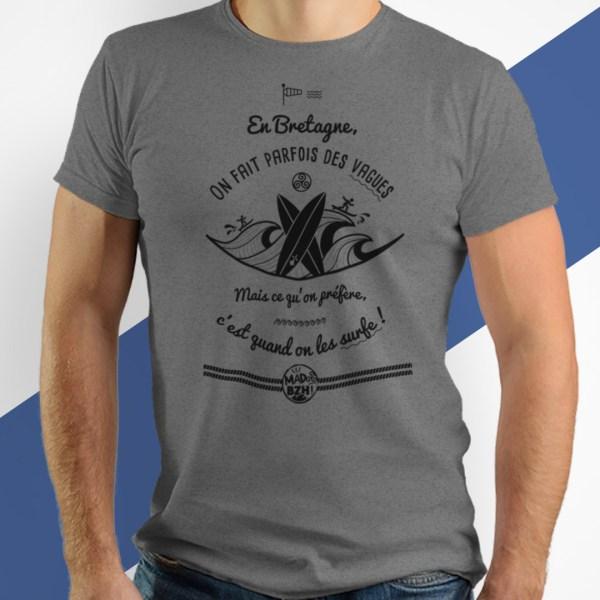 T-shirts MAD BZH surf bzh breizh morbihan bretagne