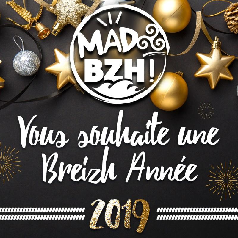 MAD BZH vous présente ses meilleurs voeux 2019
