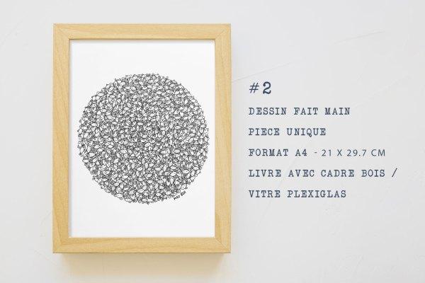 mad bzh dessin fait main poissons illustration bretonne