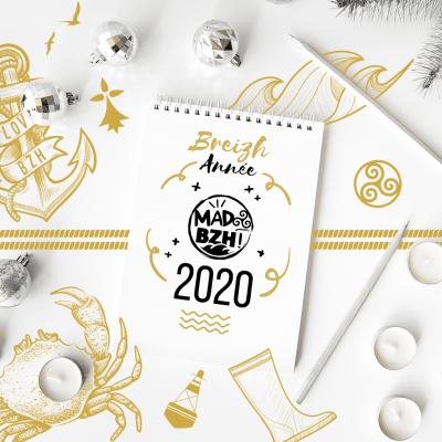 breizh année 2020 - mad bzh vous souhaite une bonne année