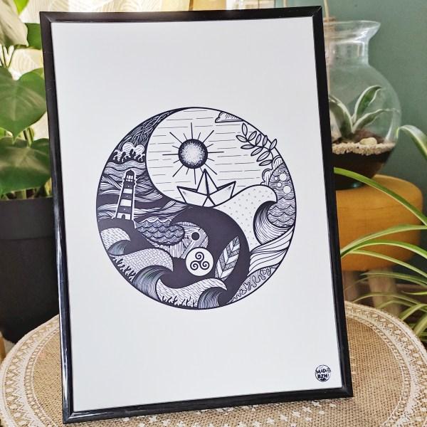 mad-bzh-dessin-a4-noir-et-blanc-modele-Yin-Yang