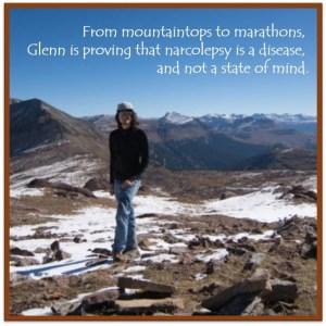 Glenn on mountaintop
