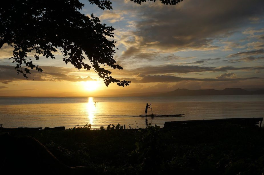 The Taal Lake at Sunset