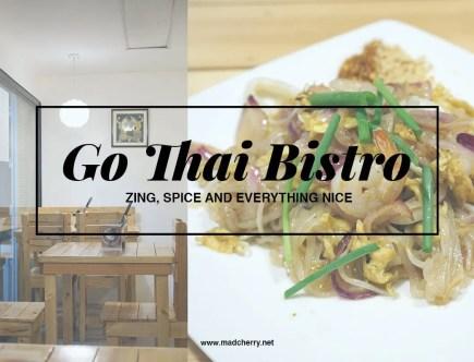 Go Thai Bistro, now Lil Thai, is a restaurant in Lipa City.
