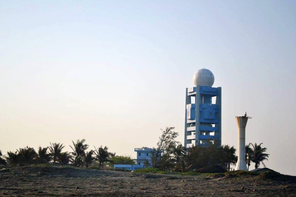The PAG-ASA Meteorological station faces the Punta pier in Aparri.