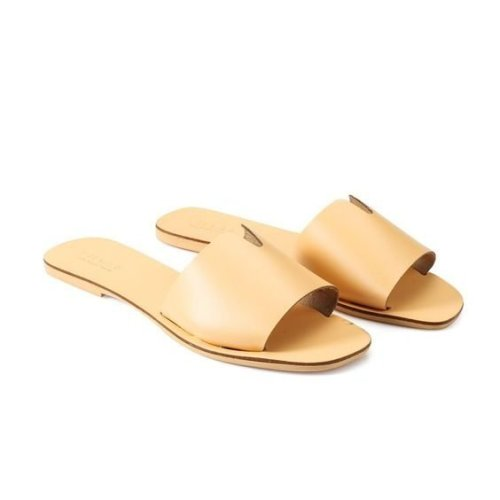 Pieces Nora Leather Sandals