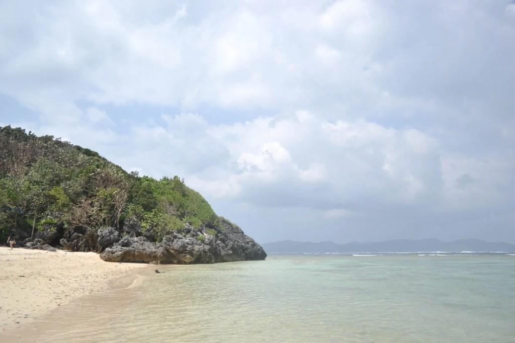 Nangaramoan Beach is like paradise.
