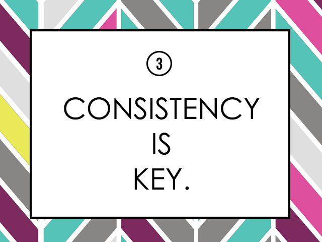 online clothing shops lessons consistency