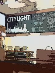 Citylight Coffee menu board