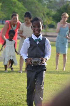 the proud ring bearer