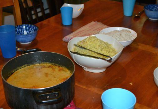 Khao Soi... (Chiang Mai Noodles) yum!!