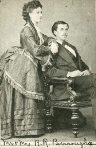 Mary Judy and Benjamin R. Burroughs