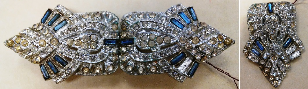 belt buckle and shoe clip