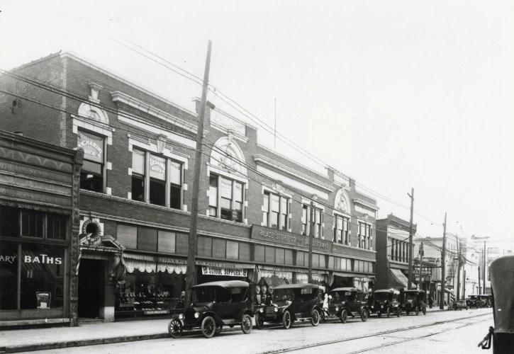 Palace Store Company in Edwardsville, circa 1920