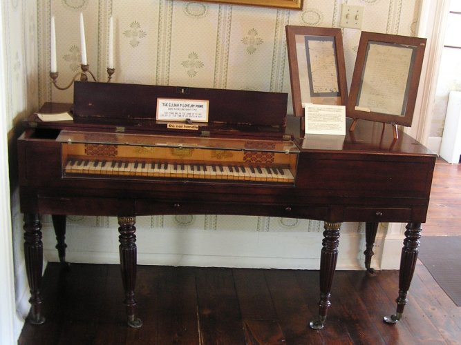 Astor & Co. square piano