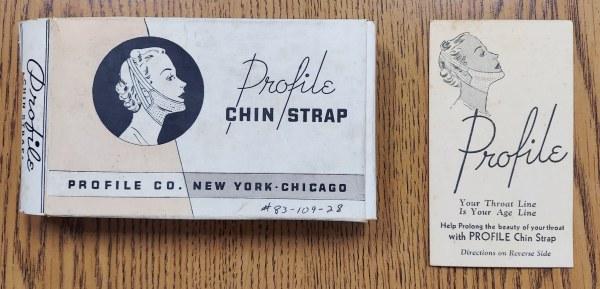 Chin strap box