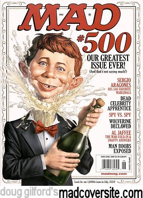 Doug Gilford's Mad Cover Site - Mad #500