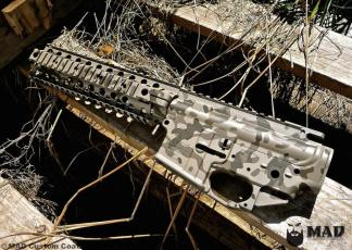 MADLand Camo on a Noveske AR set