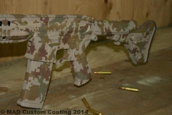 Marine Corps Desert Digital Camo Cerakote