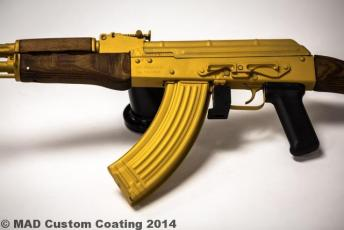 AK47 in Cerakote Gold