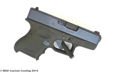 Glock 27 in Cerakote Sniper Grey & Magpul OD