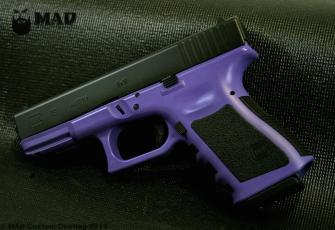 Glock 19 in Cerakote Bright Purple