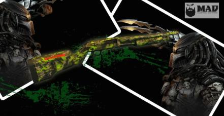 MAD Grunge Camo on a Predator Themed Shotgun
