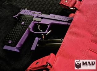 Lionheart LH9 in Cerakote Bright Purple