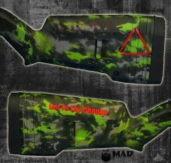 Predator themed shotgun in MAD Grunge Camo