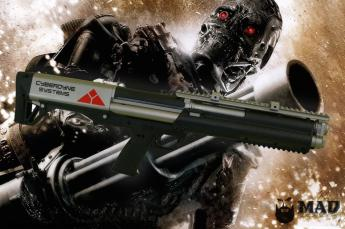 Terminator themed shotgun from Kel-Tec