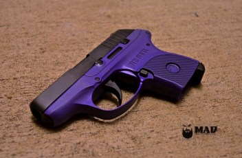 Ruger LCP in Cerakote Bright Purple