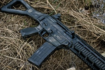 Sig 5.56 in War Torn Magpul FDE & Graphite Black Cerakote