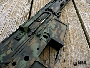 MAD Grunge Camo on a Joe Bob Outfitters AR15