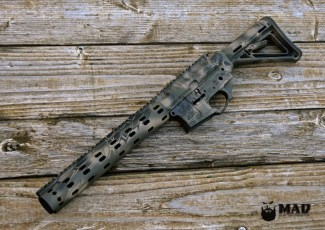 MEGA Arms AR15, Daniel Defense rail & Magpul stock in 3 color MAD Dragon
