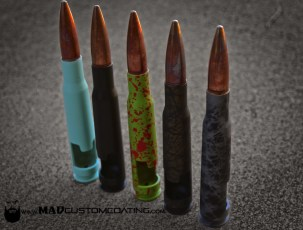 Bottle Breacher Bottle Openers in various Cerakote colors and Patterns