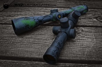 MAD Dragon Camo on a Leupold Optic & Valdada IOR
