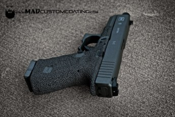 Glock 19 in Disruptive Grey & MAD Black
