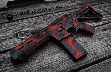 MAD Dragon Camo in MAD Black, Sniper Grey & USMC Red
