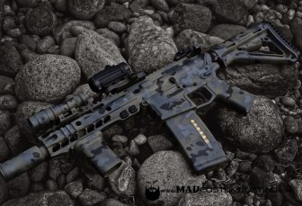 MADLand Camo in Magpul Foliage, Sniper Grey, Mike498 Grey & Black