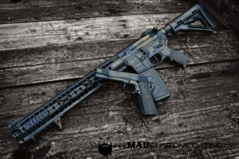 War Torn on a War Sport AR15 and Wilson Combat 1911