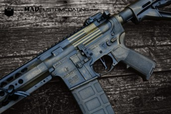 War Torn War Sport AR15 with American Flag