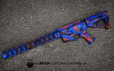 MAD Dragon Camo on a Gators themed AR15