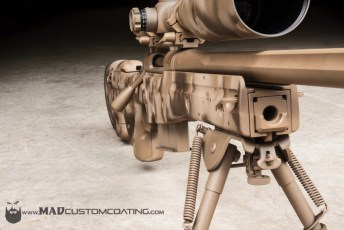 Desert A-TACS on a Rem 700 .338 Lapua in an AI Chassis
