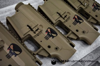 Punisher Theme Chris Kyle AR 308 sets