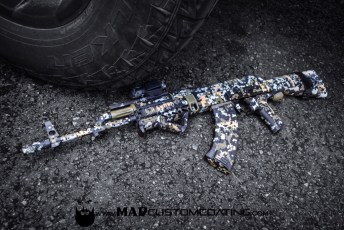 5 color Digital Camo AK47